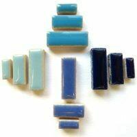 Ceramic Rectangles: Beach