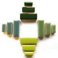 Ceramic Rectangles: Meadow