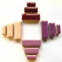 Ceramic Rectangles: Blossom