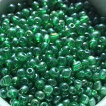 Green transparent lustered