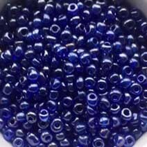 Blue transparent lustered