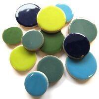XL Ceramic Discs: Water