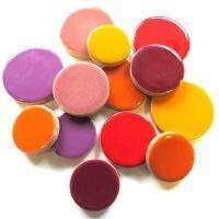 XL Ceramic Discs: Flora