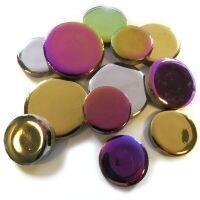 XL Ceramic Discs: Metallic