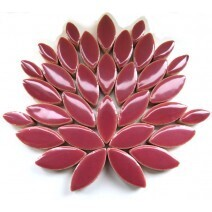 Ceramic Petals: Deep Mauve