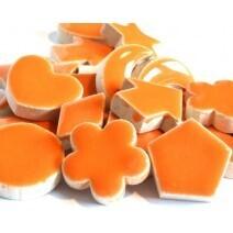 Ceramic Charms: Orange