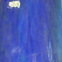 Glass: Heaven Blue Pearl