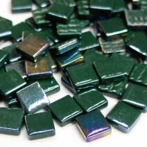 12mm: Dark Green Iridised