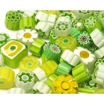 Millefiori: Brazil Green