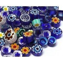 Millefiori: Greek Blue