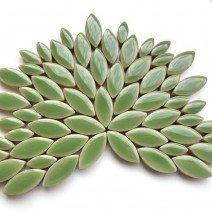 Ceramic Petals: Jade
