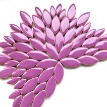 Ceramic Petals: Pretty Purple