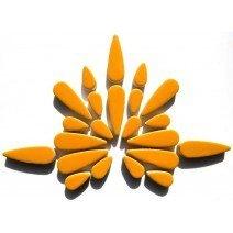 Ceramic Teardrops: Curry
