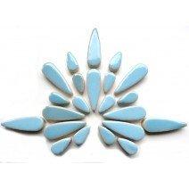 Ceramic Teardrops: Azure