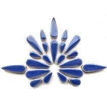 Ceramic Teardrops: Delphinium