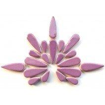 Ceramic Teardrops: Fresh Lilac
