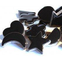Ceramic Charms: Black