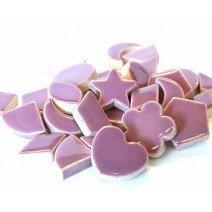Ceramic Charms: Purple