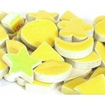 Ceramic Charms: Yellow