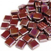 12mm: Bordeaux Iridised