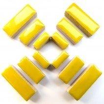 Ceramic Rectangles: Citrus Yellow