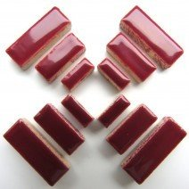Ceramic Rectangles: Merlot