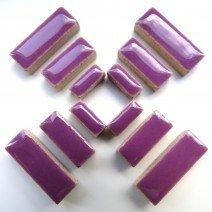 Ceramic Rectangles: Pretty Purple