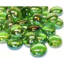 Glass Nuggets: Green Diamond