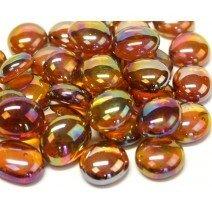 Glass Nuggets: Amber Diamond