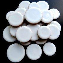 Ceramic Discs: White