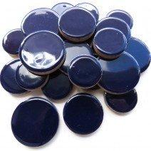 Ceramic Discs: Indigo