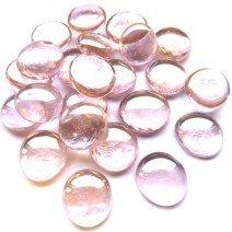 Glass Nuggets: Pastel Pink Diamond