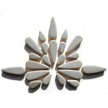 Ceramic Teardrops: Dove Grey