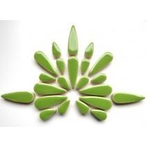 Ceramic Teardrops: Kiwi