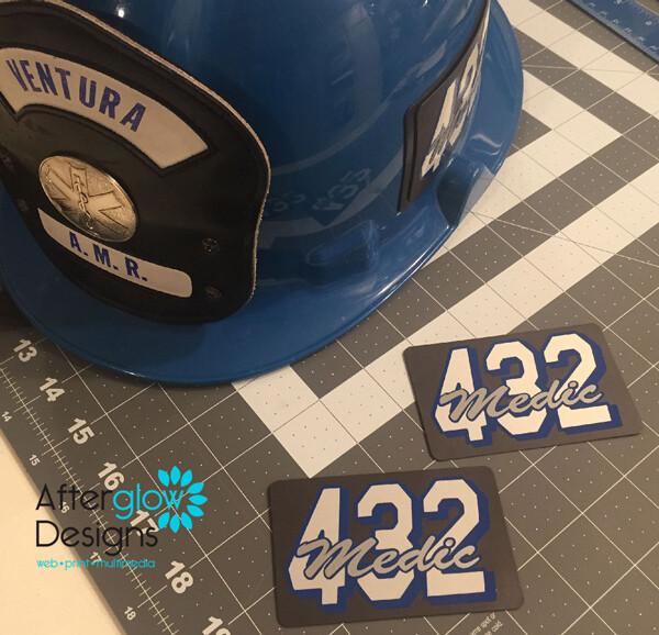 Ventura County Helmet Magnets