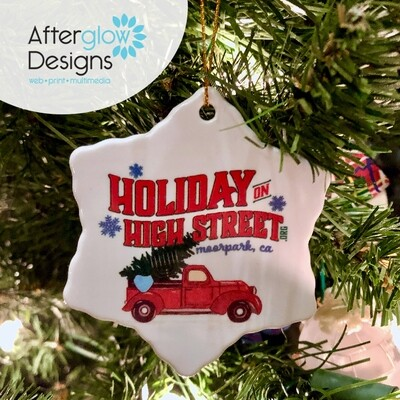 """2020 Holiday on High Street"" Ornament"
