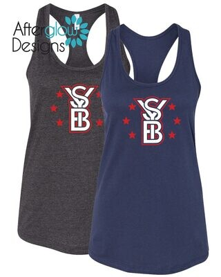2021 SYB ALL STARS ON Triblend Navy or Charcoal Grey Tank