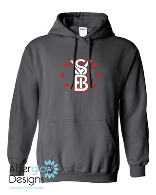 2021 SYB ALL STARS on Charcoal Gray 50/50 Hoodie