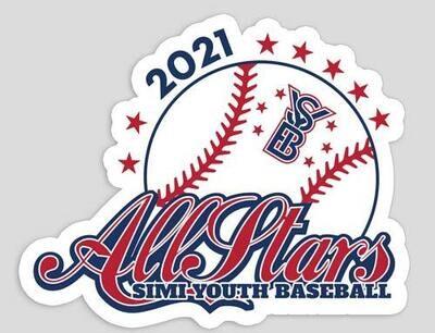 2021 SYB ALL STARS Stickers