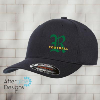 Royal Logo on Black Flexfit Hat