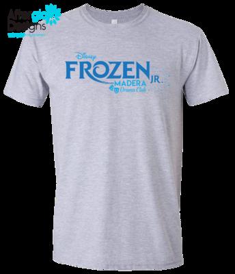 Frozen Design on Ash Grey 50/50 Tshirt