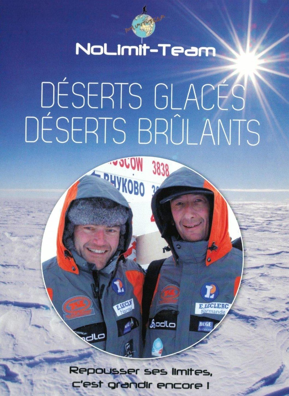 Double DVD Déserts Glacés - Déserts Brûlants