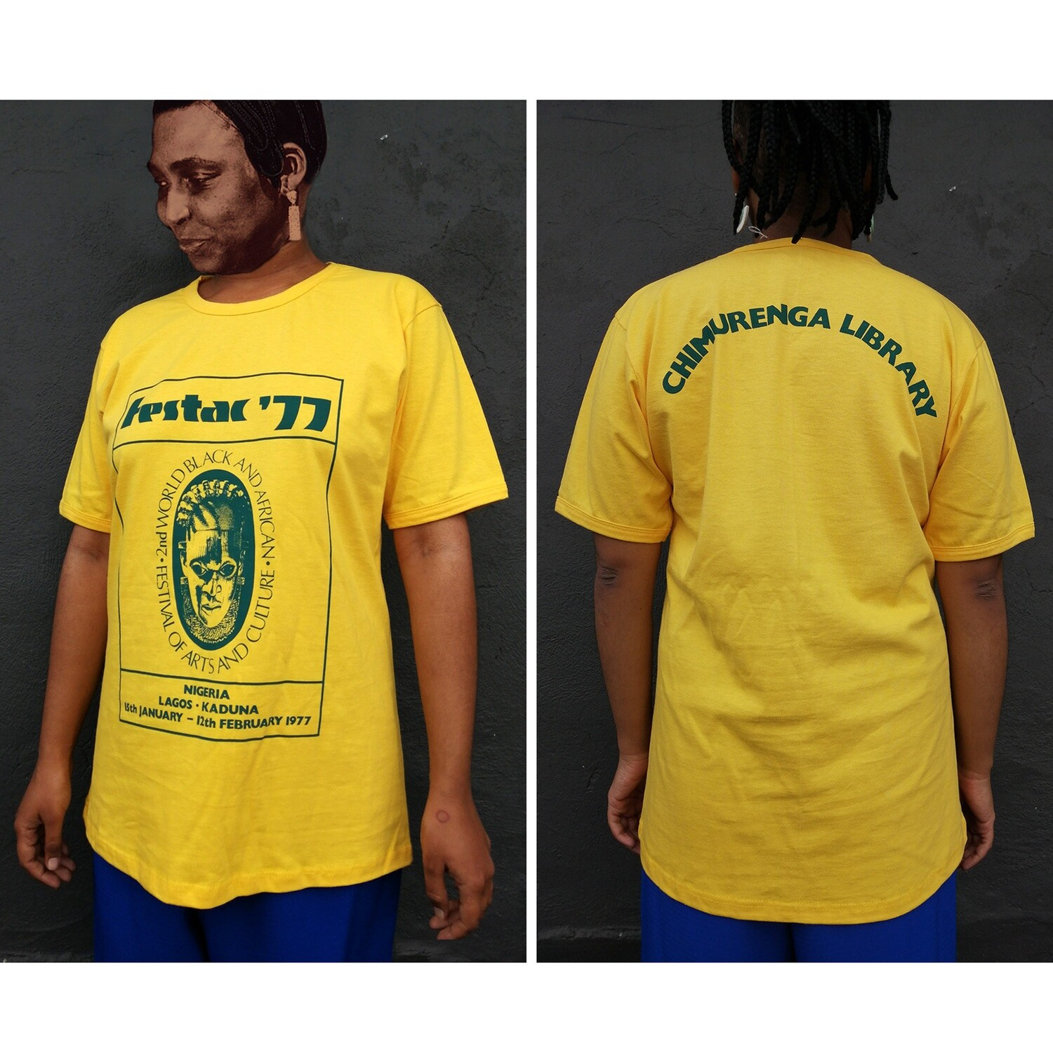 Festac '77 T.Shirt (Yellow)