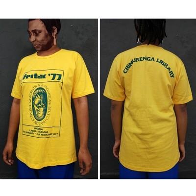 Festac '77 T.Shirt (Yellow)