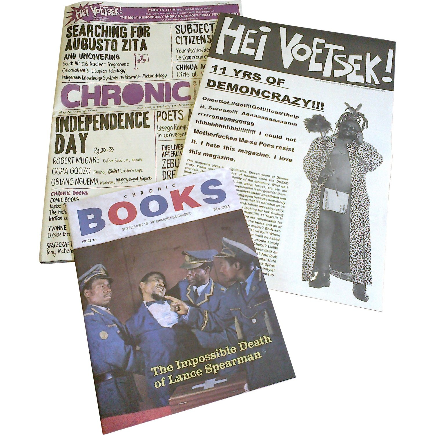 Chimurenga Chronic: Graphic Stories (July 2014)