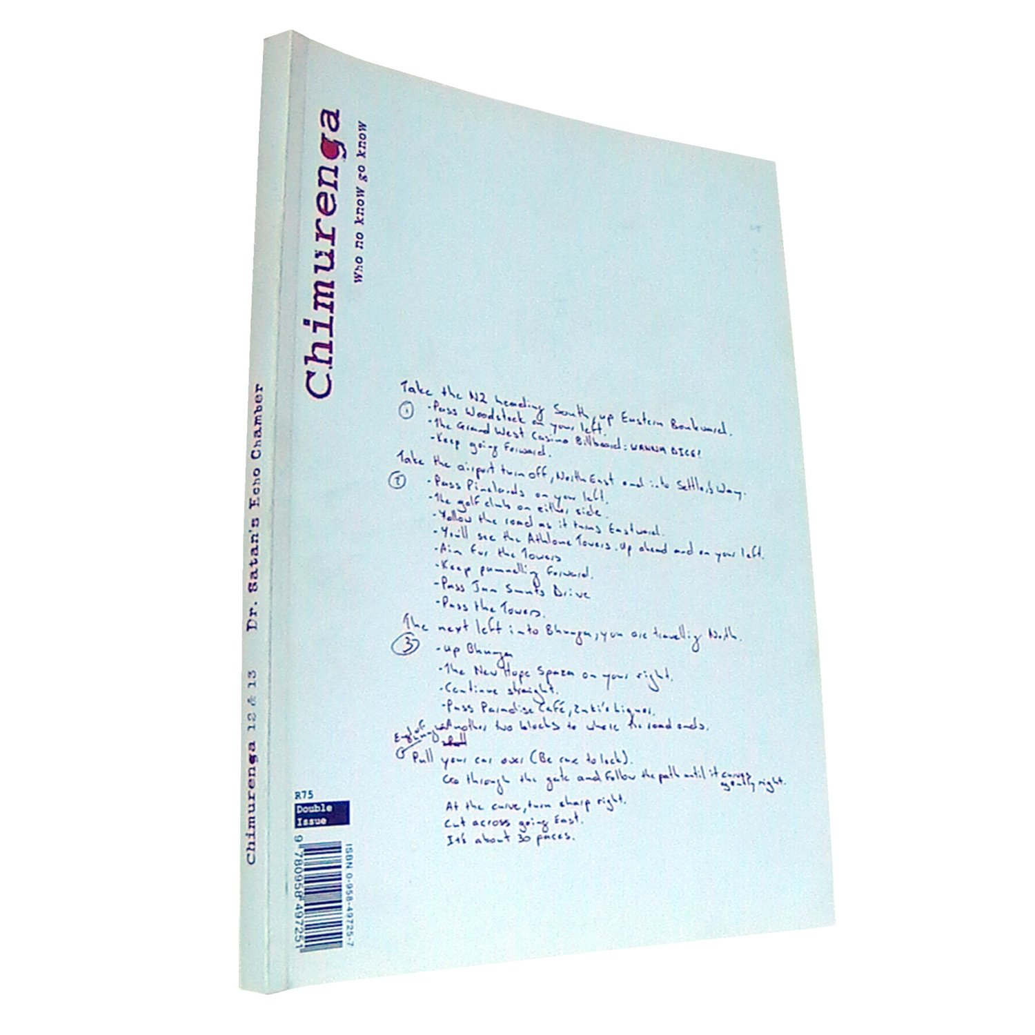 Chimurenga 12/13 - Dr Satan's Echo Chamber (Double-Issue March 2008)