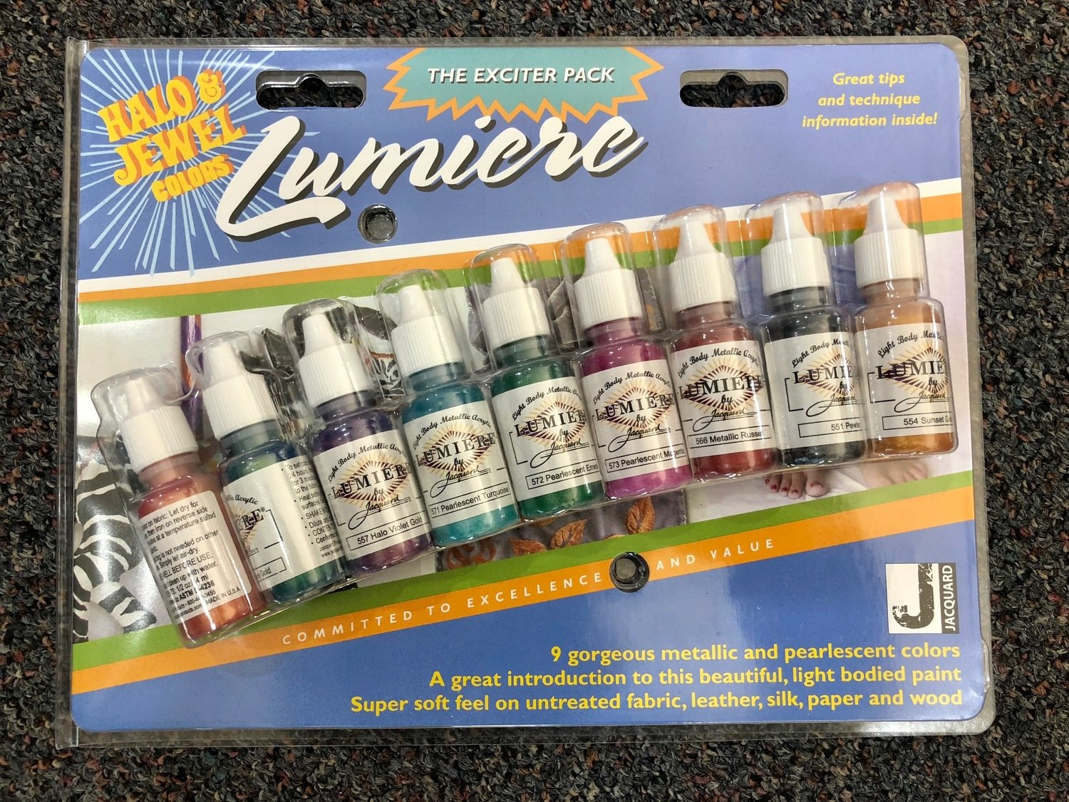 Halo & Jewel Colours Lumiere Exciter Pack