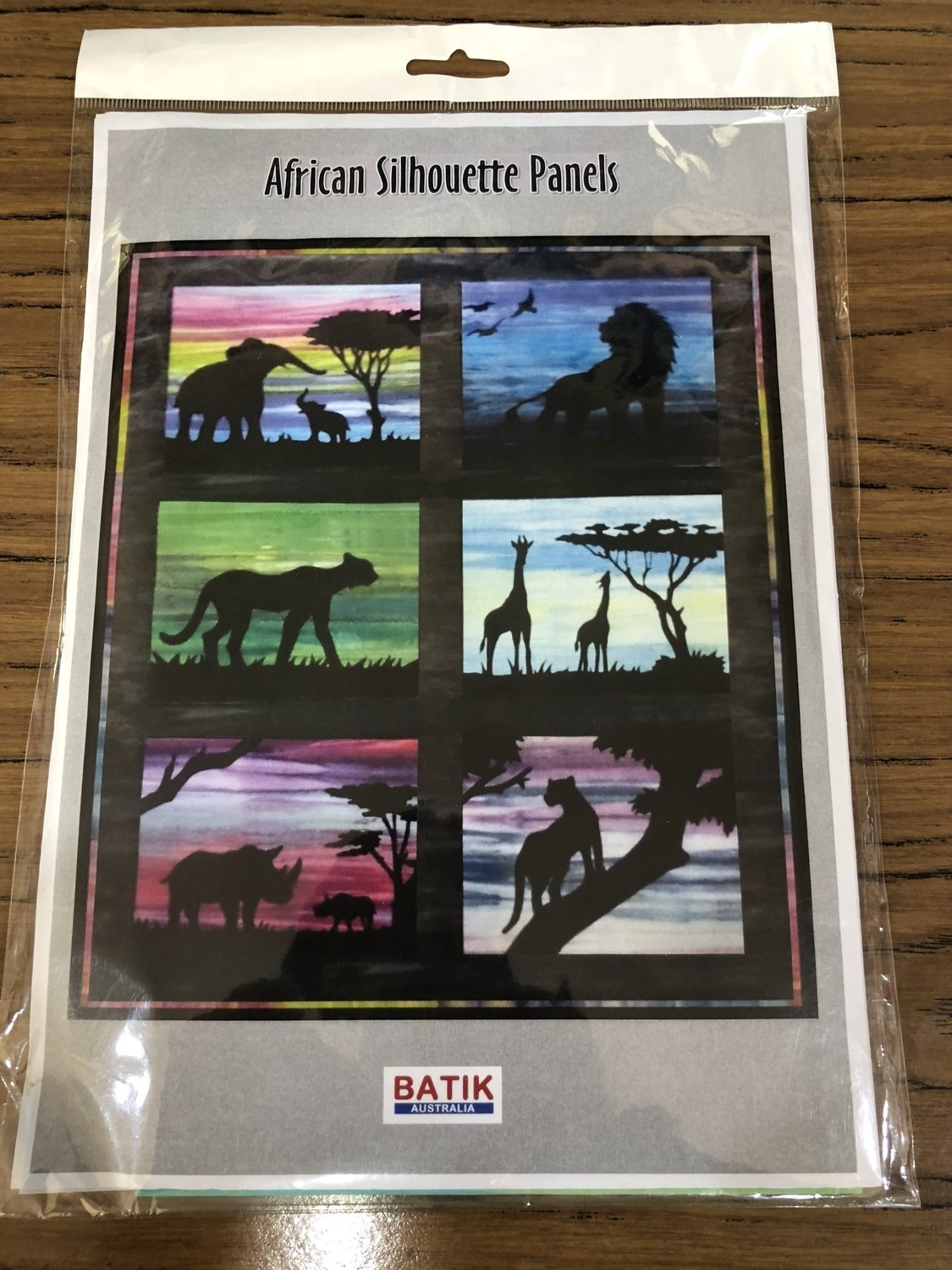 Africa Silhouette Panels