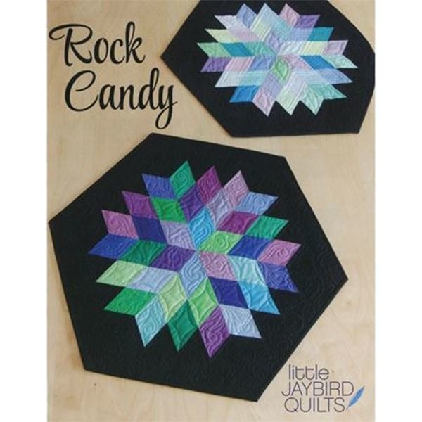 Rock Candy Table Topper Quilt