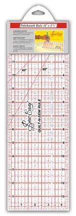 RULER QUILTERS 14IN X 4.5IN imperial